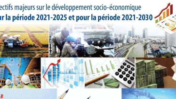 Objectifs majeurs sur le développement socio-économique pour la période 2021-2025