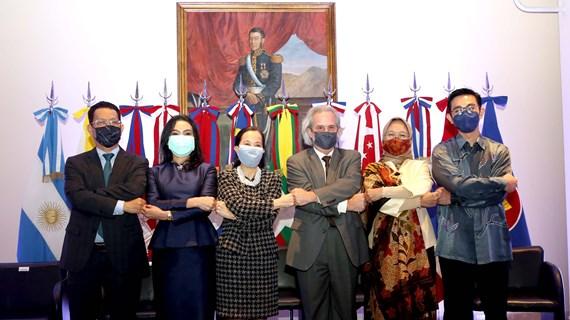 Célébration des 54 ans de l'ASEAN en Argentine