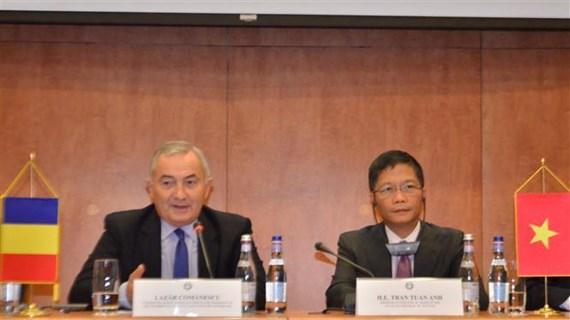 Réunion du Comité mixte Vietnam-Roumanie sur la coopération économique