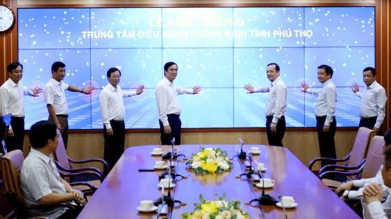 Phu Tho inaugure un centre d'administration intelligente