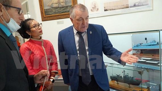 Ouverture de l'exposition « Cam Ranh : coopération militaire Vietnam-Russie » à Saint-Pétersbourg