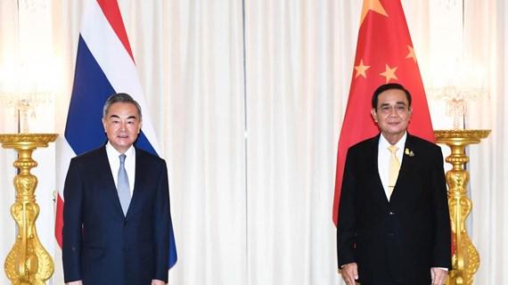 Le ministre chinois des Affaires étrangères en visite officielle en Thaïlande