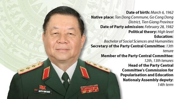 Nguyen Trong Nghia: chef de la Commission de la sensibilisation et de l'éducation du CC du PCV