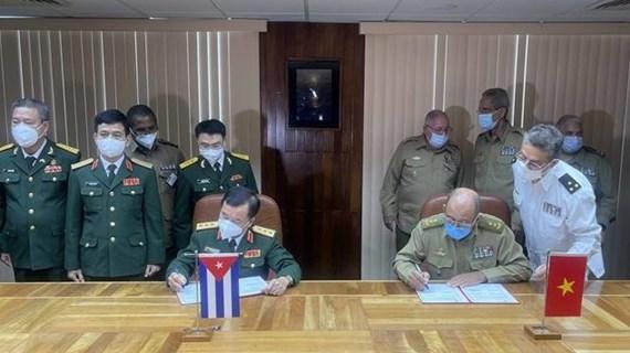 Vietnam-Cuba : Renforcement de la coopération bilatérale dans la défense