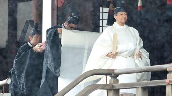 Le Premier ministre Nguyen Xuan Phuc assiste à la cérémonie d'intronisation de l'empereur japonais