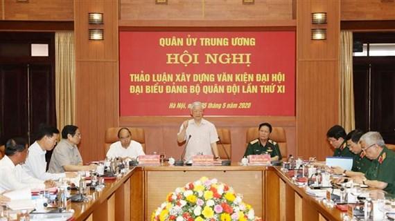 Le leader exhorte à opérer des percées dans la construction de l'armée