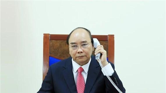 Vietnam-Singapour : les Premiers ministres s'entretiennent par téléphone