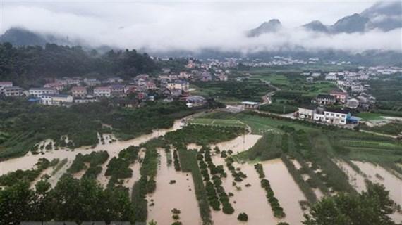 Message de sympathie du Premier ministre Nguyen Xuan Phuc aux sinistrés chinois