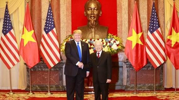 Vietnam et Etats-Unis échangent des félicitations en l'honneur de l'anniversaire de leurs relations