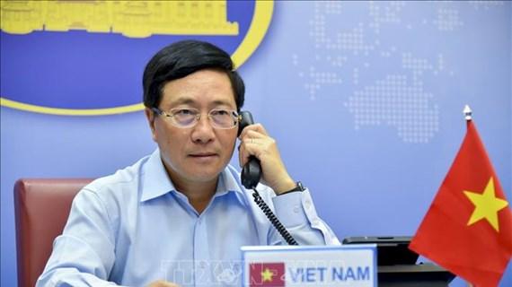 Vietnam-Royaume-Uni : conversation téléphonique entre les deux chefs de la diplomatie