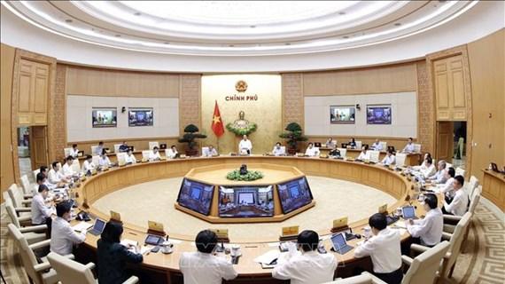Gouvernement : réunion périodique portant sur la lutte contre le coronavirus