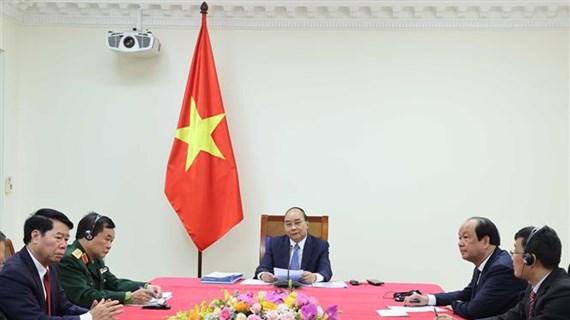 Les PM vietnamien et cambodgien s'entretiennent en ligne
