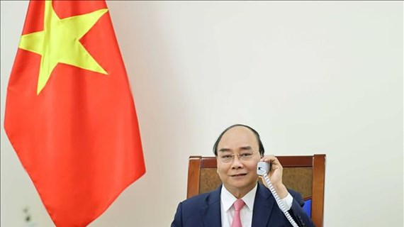 Vietnam-Pays-Bas : Nguyên Xuân Phuc s'entretient au téléphone avec Mark Rutte