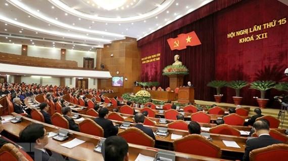 15e Plénum du CC du Parti : achèvement des préparatifs du 13e Congrès national du Parti
