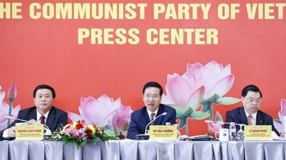 Le 13e Congrès national du Parti aura un nombre record de participants