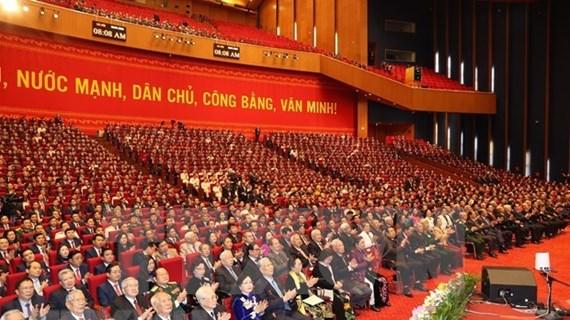 Communiqué de presse sur la séance d'ouverture du 13e Congrès national du Parti