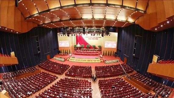 Le XIIIe Congrès du Parti vote le nombre de membres du Comité central