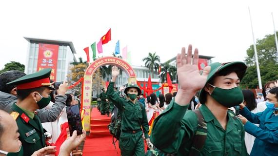 Des jeunes de plusieurs localités en route vers l'armée
