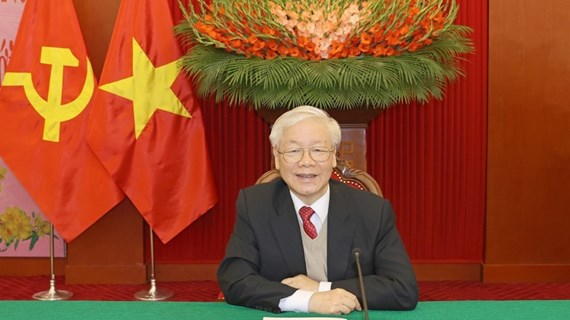 Félicitations d'amis internationaux pour le SG et président vietnamien Nguyen Phu Trong