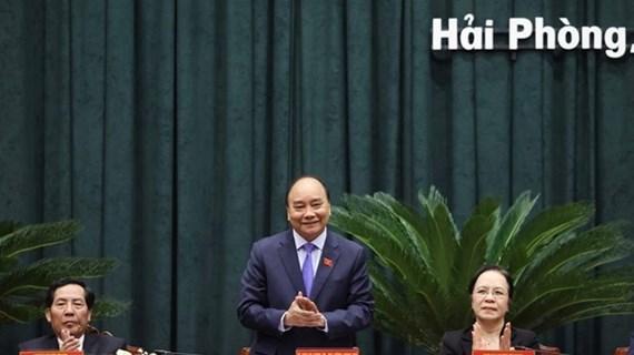 Le PM exhorte Hai Phong à s'appuyer sur trois piliers économiques