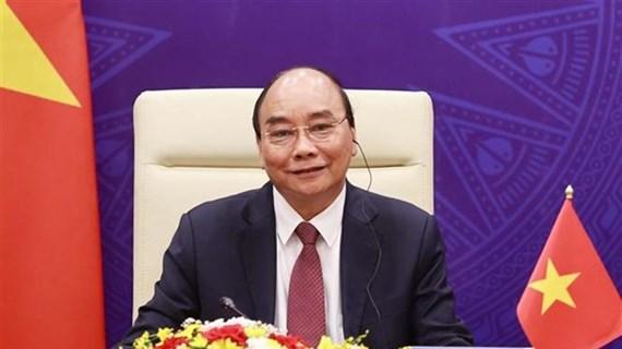 Le président vietnamien assiste à la cérémonie d'ouverture du Sommet international sur le climat
