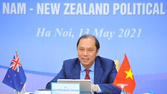 Consultation politique entre le Vietnam et la Nouvelle-Zélande
