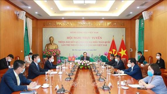 Informer la partie cambodgienne des résultats du 13e Congrès du Parti communiste du Vietnam