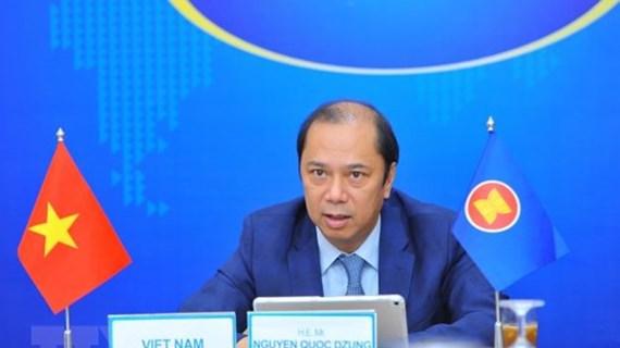 Le Vietnam exhorte à réaliser le Cadre de relance global de l'ASEAN
