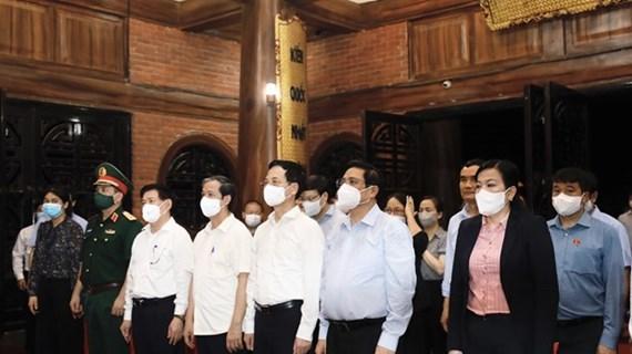 Le Premier ministre rend visite à la province de Thai Nguyen