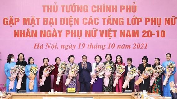 Le Vietnam crée un environnement permettant aux femmes d'affirmer leur position, selon le PM