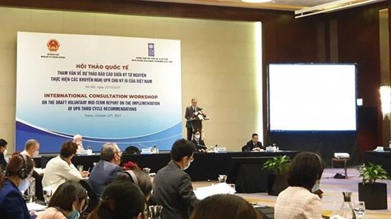 Le Vietnam réalise les engagements internationaux pour promouvoir les droits humains