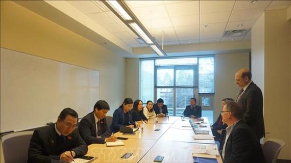 Promouvoir la coopération parlementaire entre le Vietnam et le Canada