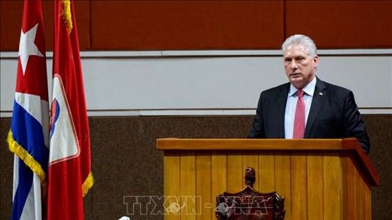 Vietnam-Cuba : message de félicitations de Nguyen Phu Trong à Miguel Diáz-Canel Bermúdez