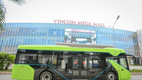 Premier modèle de bus électrique testé au Vietnam