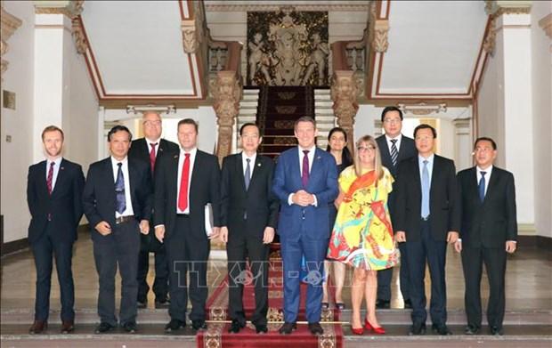 Des liens renforces entre Ho Chi Minh-Ville et le Territoire du Nord de l'Australie hinh anh 1