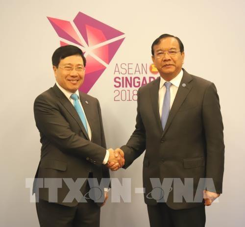 Le Cambodge s'engage a soutenir la vie des Cambodgiens d'origine vietnamienne hinh anh 1