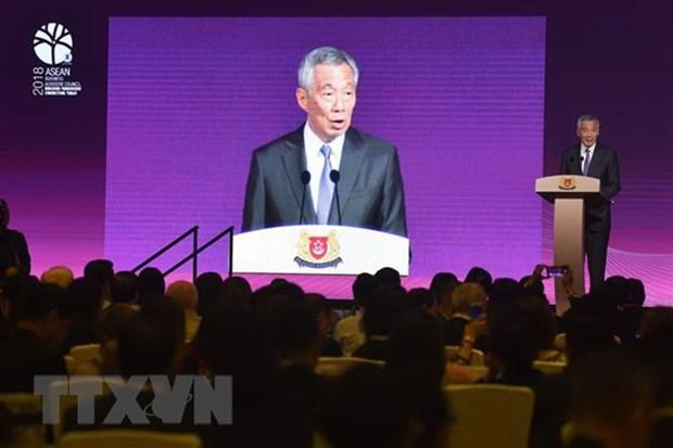 Les pays membres se preparent au 33e Sommet de l'ASEAN hinh anh 1