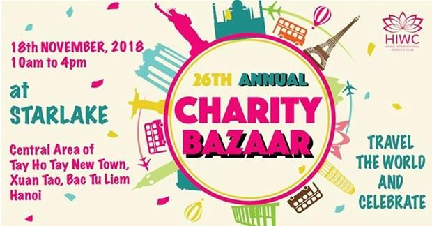 La foire de charite HIWC Bazaar 2018 aura lieu le 18 novembre a Hanoi hinh anh 1