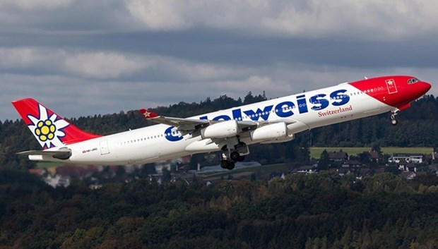 Edelweiss Air ouvre une ligne directe Zurich-Ho Chi Minh-Ville hinh anh 1