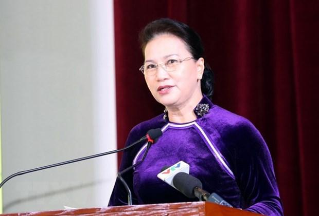 Nguyen Thi Kim Ngan au 55e anniversaire de l'Academie des finances hinh anh 1