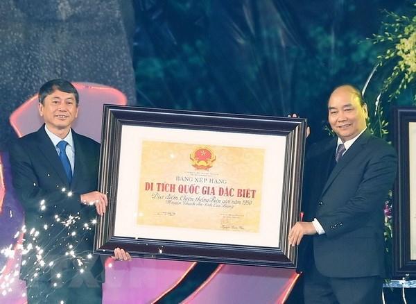 Le geoparc de Non Nuoc Cao Bang recoit le certificat de l'UNESCO hinh anh 2