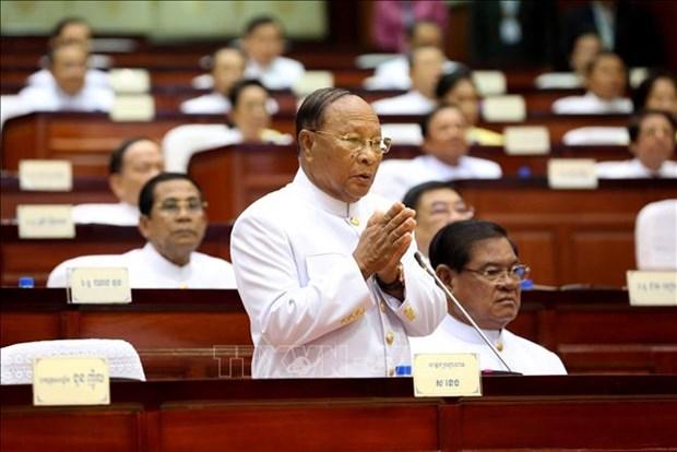 Un memoire du president de l'Assemblee nationale du Cambodge Heng Samrin voit le jour hinh anh 1