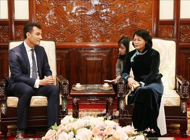 Le Vietnam soutient les entreprises canadiennes en activite sur son sol hinh anh 1