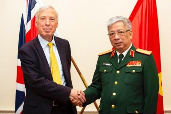 Dialogue sur la politique de defense Vietnam-Royaume-Uni hinh anh 1