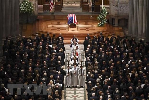 Deces de l'ex-president americain George H.W. Bush : Message de condoleances du Vietnam hinh anh 1