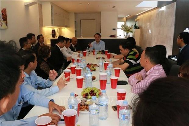 Des Vietnamiens en Australie veulent introduire des technologies avancees au Vietnam hinh anh 1