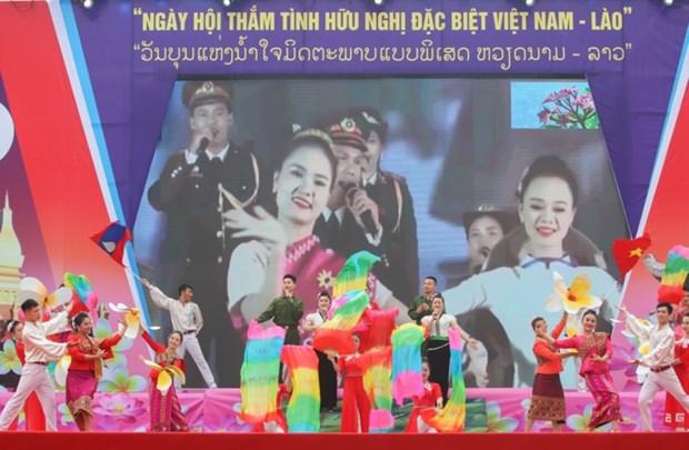 Journee de l'amitie speciale entre le Vietnam et le Laos a Dien Bien hinh anh 1