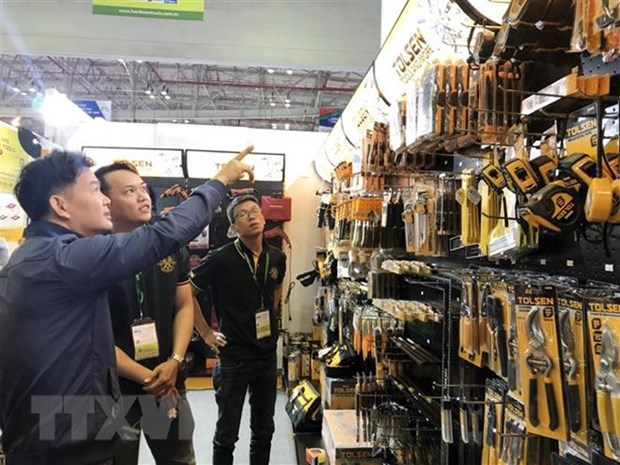 Des milliers de contrats conclus a la Vietnam Expo Ho Chi Minh-Ville 2018 hinh anh 1