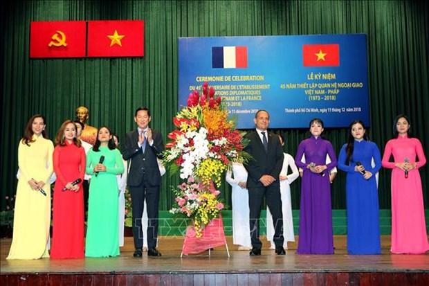 Dynamiser la cooperation entre Ho Chi Minh-Ville et les localites francaises hinh anh 1