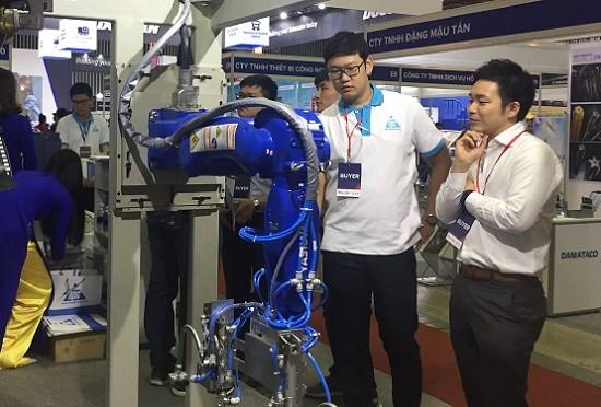 Ouverture des expositions internationales sur les machines industrielles au Vietnam hinh anh 1